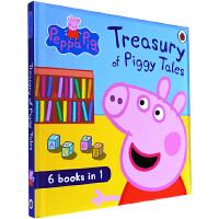 英文绘本 原版进口Peppa Pig Treasury of Piggy Tales小猪佩奇进口英文精装合辑
