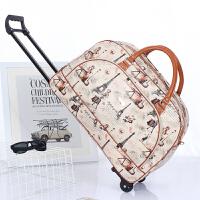 短途拉杆包旅行袋大容量女手提小行李袋包男健身包学生出差旅游包