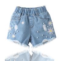 女童夏季热裤新款韩版潮儿童牛仔短裤中大童女孩裤子时尚百搭