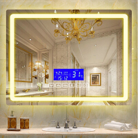 智能镜子浴室挂墙壁梳妆化妆led灯卫生间洗手间蓝牙音乐