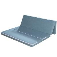 天然椰棕床垫可折叠办公室午单双人午休垫四折地铺睡垫乳胶棕榈垫