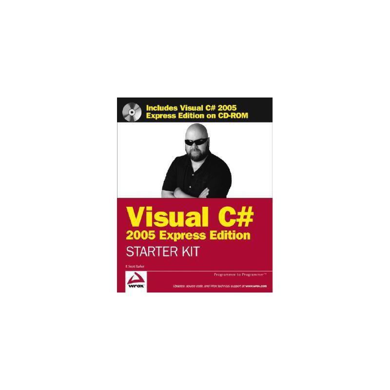 【预订】Wrox's Visual C# 2005 Express Edition Starter Kit [With CDROM] 美国库房发货,通常付款后3-5周到货!