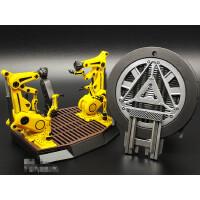 钢铁侠发光反应堆 MK43人偶拆甲台手办玩具模型汽车摆件 MARVEL