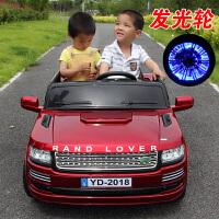 儿童电动车四轮双座双驱动大号越野玩具可坐双人遥控汽车AM