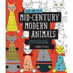 【预订】Just Add Color: Mid-Century Modern Animals: 30 Original