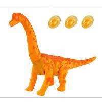 会下蛋的恐龙电动灯光投影爬行蜿龙长颈龙儿童玩具0-3岁