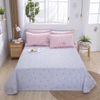 伊迪梦家纺 全棉床单 单品纯棉家纺床上用品单件 单人双人大小规格学生宿舍床HC315