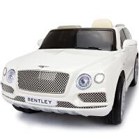 宾利正版授权儿童电动车四轮带遥控小孩玩具车可坐人宝宝摇摆汽车