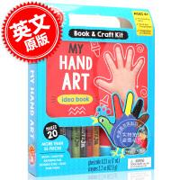 [现货]我的手工艺品 英文原版 My Hand Art [With Book and POM-Poms, Googly