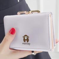 简约学生小钱包零钱包钱夹皮夹 女士钱包 女 短款版