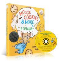 英文原版绘本 老鼠饼干故事4个故事合集 附原版CD If you give a Mouse Cookies and Mo