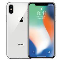 【支持礼品卡】Apple iPhone X (A1865) 256GB 银色 移动联通电信4G手机