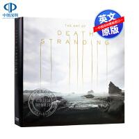 现货 死亡搁浅 游戏艺术画册设定集 英文原版 The Art of Death Stranding 小岛秀夫 精装 PS