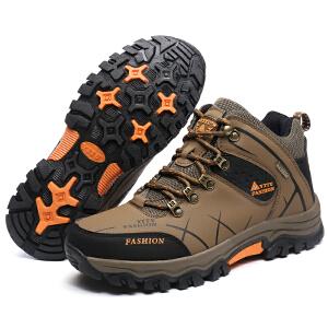 户外高帮登山鞋 舒适耐穿男士休闲鞋