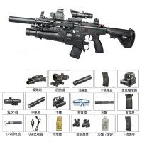 M416电动连发*绝地M4求生HK416可发射98K狙击抢玩具枪