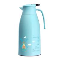 大容量便携户外欧式热水瓶暖水壶家用玻璃内胆保温壶
