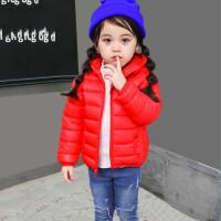 女宝宝3可爱4男童6冬季7衣服装1面包服冬季可爱棉衣上衣羽绒
