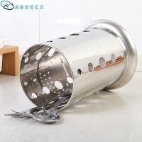 加厚不锈钢筷子筒筷子架筷笼沥水架筷笼篓架竹签筒吸管桶