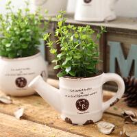 摆件服装店铺橱窗摆设创意家居田园植物客厅隔断咖啡厅装饰品