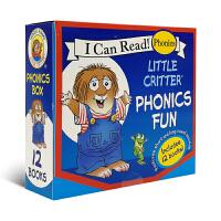 【全套12册】little critter Phonics Fun 小毛怪 小毛人 小怪物 自然拼读 故事图画书 英文
