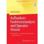 【预订】Aufbaukurs Funktionalanalysis Und Operatortheorie: Dist