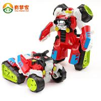 儿童变形金刚玩具汽车机器人1-2-3-4-5-6周岁益智力男孩幼儿玩具