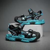 【一件二折;69】贵人鸟男童凉鞋2021夏季宝宝童鞋防滑软底小童包头夏天儿童鞋