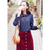 香[N64-235]专柜品牌正品新款女士打底衫女装雪纺衫0.24KG