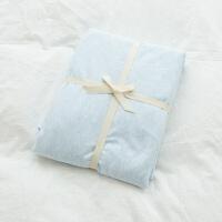 纯棉单人针织棉床单单件 纯色天竺棉席梦思床罩1.5/1.8m床笠