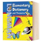 朗文初阶英语同义词词典 英文原版 英文词典 Longman Elementary Dictionary & Thesa