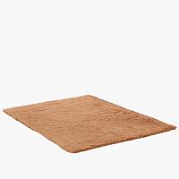 当当优品 丝毛 卧室厨卫玄关吸水防滑地垫 120*160cm 卡其色