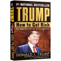 英文原版 如何致富 How to Get Rich 跟亿万富翁学徒 美国总统特朗普 川普 英文版人物传记 进口书籍
