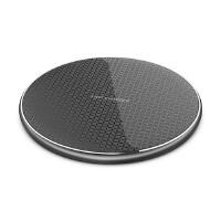 超薄铝合金手机快速无线充电器