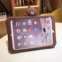 2018新ipad保护套6软壳mini123卡通防摔7苹果air2硅胶套平板迷你4