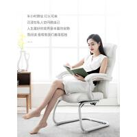 习格家用电脑椅舒适可躺办公室椅子现代简约书房书桌椅座椅弓形椅