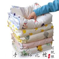 小孩用被子婴儿被子纯棉盖被儿童被子秋冬新生宝宝棉花被加厚手工棉被