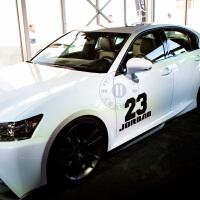 飞人乔丹23号篮球球队车贴 汽车贴纸 反光车贴大众 福克斯嘉年华