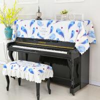 ?新款钢琴罩盖巾钢琴防尘罩电钢琴罩印花布艺防尘罩钢琴凳罩 +单凳