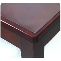 软质玻璃磨砂透明餐桌布水晶膜桌垫桌布台布PVC水晶板防水防油