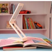 台灯学习学生折叠迷你折叠式的触摸调光护眼台灯携带方便 正白 2