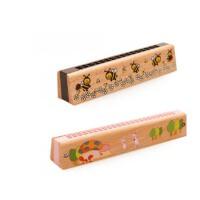 童乐器木制玩具16孔24孔口琴奥尔夫早教音乐兴趣