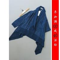 [154-205-8]3298羊毛兔毛上衣针织衫0.63