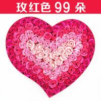 玫瑰香皂花束礼盒女生日礼物DIY定制情人节送女友爱人老婆朋友