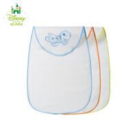 迪士尼Disney童装宝宝纱布吸汗巾垫背巾纯棉婴儿隔汗巾全棉143P645