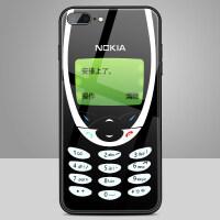 20190531042159761苹果x手机壳iphone7plus诺基亚手机壳xs max玻璃壳个性创意复古苹果8有