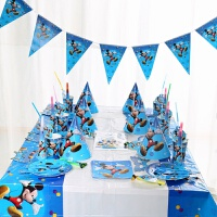 派对用品生日礼物圣诞装饰餐桌场景布置米奇主题套装 米奇套装