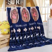 夏季珊瑚绒毯子薄法兰绒毛毯单人冬季学生宿舍绒床单小毛毯空调毯