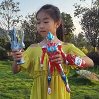 儿童玩具银河变身器奥特曼超大号火花召唤器超人变形欧布圆环套装