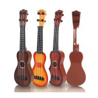?儿童玩具批�l创意仿真可弹奏古典吉他小孩音乐礼物小礼品?