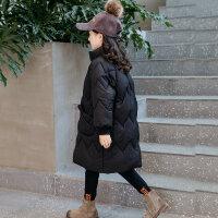 女童羽�q冬�b�n版小女孩洋�饷抟\衣外套�和��b中�L款